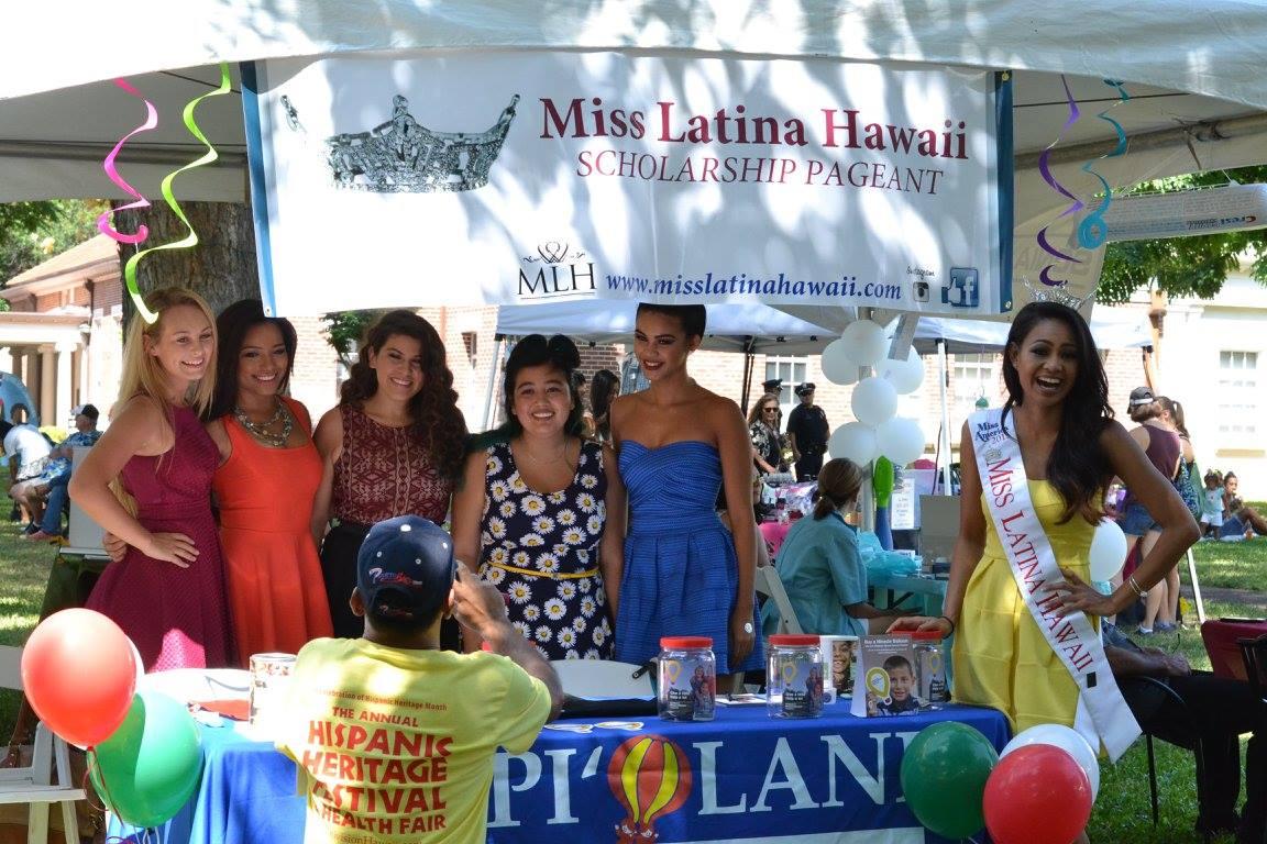Miss Latina Hawaii Contestants